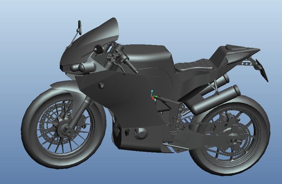杜克M3S摩托车正面.jpg