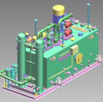 发电厂用集中油站